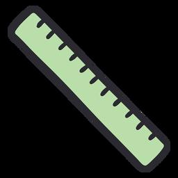 School ruler stroke color
