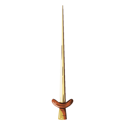 Ilustración de espada afilada