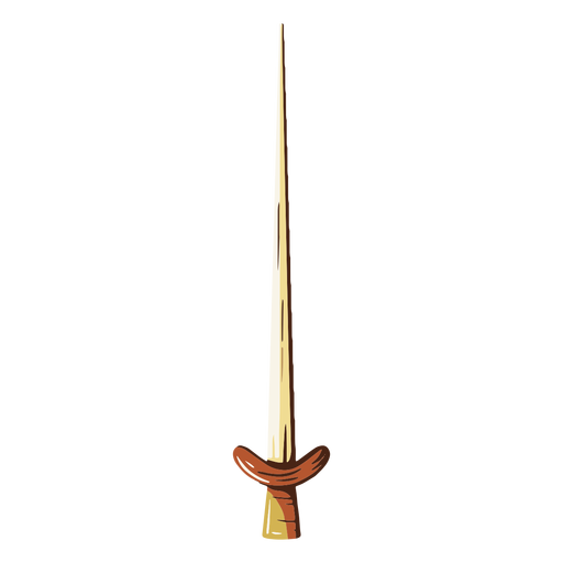 Sharp sword illustration