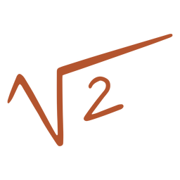 Square root of 2 doodle
