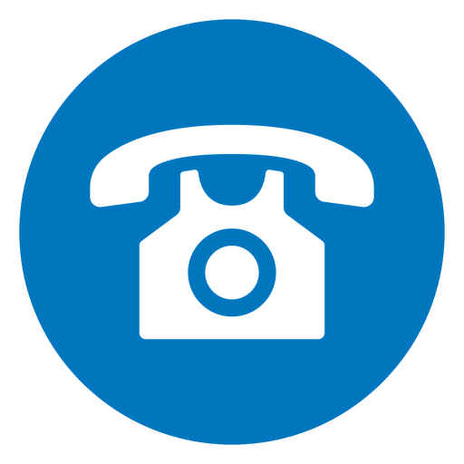 Telephone blue icon Transparent PNG