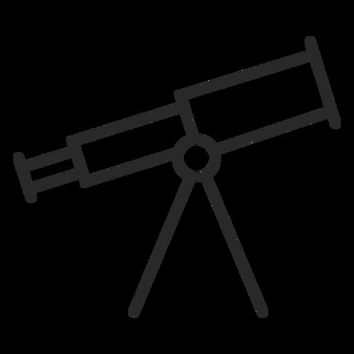 Telescope device stroke icon