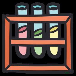 Test tube rack stroke color