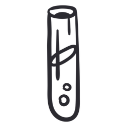 Carrera de tubo de ensayo