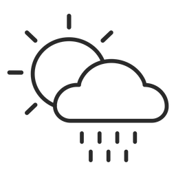 Weather stroke icon