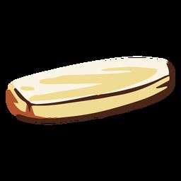 Ilustração de borracha branca