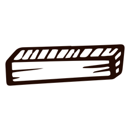 Wooden rectangular prism doodle