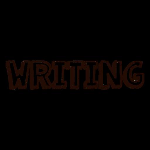 Escribir boletines escolares