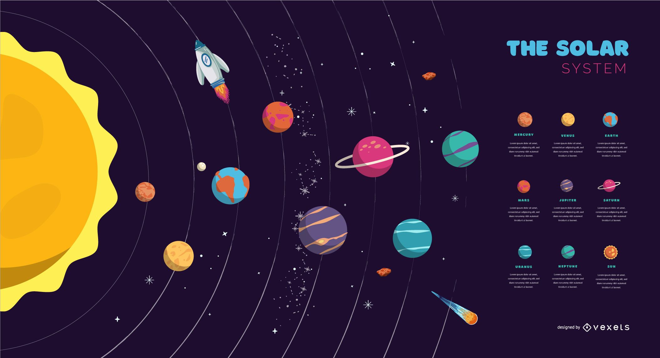 The Solar System Cover Design