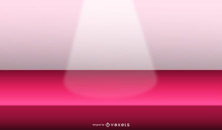 projeto de ilustração de luz de palco