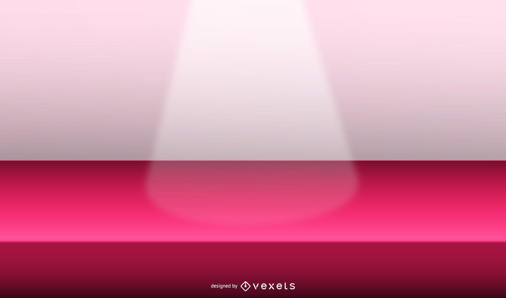diseño de ilustración de luz de escenario