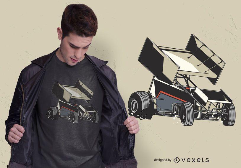 Design de t-shirt de carro Sprint