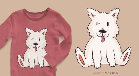 Eskimo Pup T-shirt Design