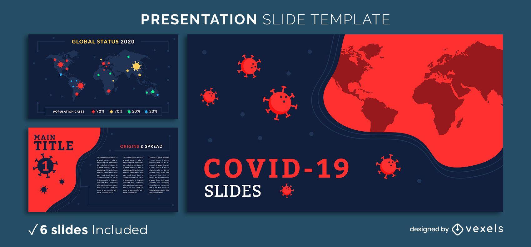 Covid-19 Präsentationsvorlage