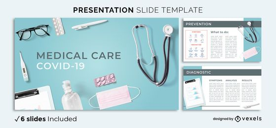 Medical Covid Presentation Template