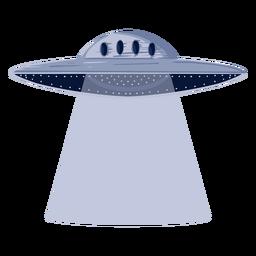 Ilustración extraterrestre ovni