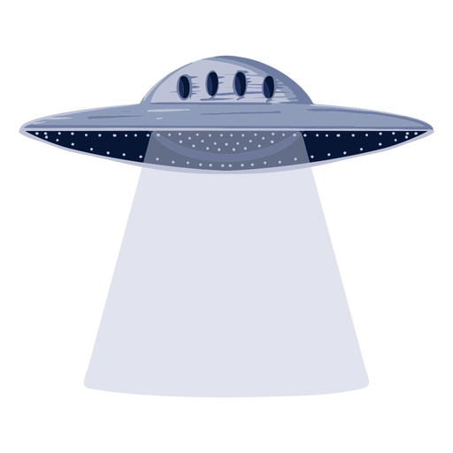 Alien ufo illustration
