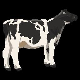 Ilustración animal vaca