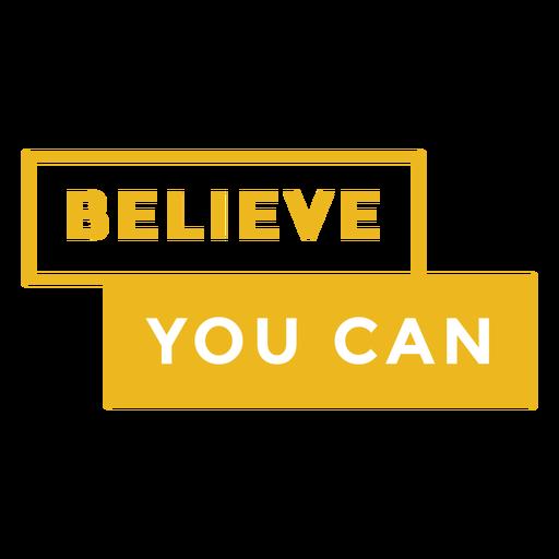 Insignia cree que puedes
