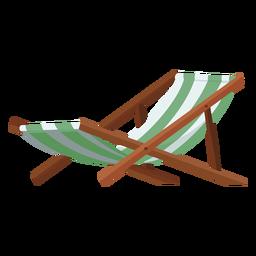 Ilustração de cadeira de praia