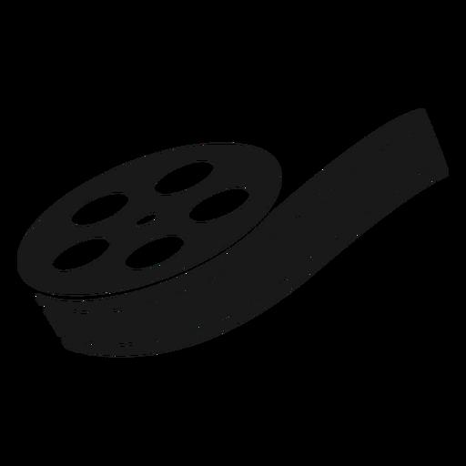Black film reel