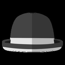 Bowler hat illustration