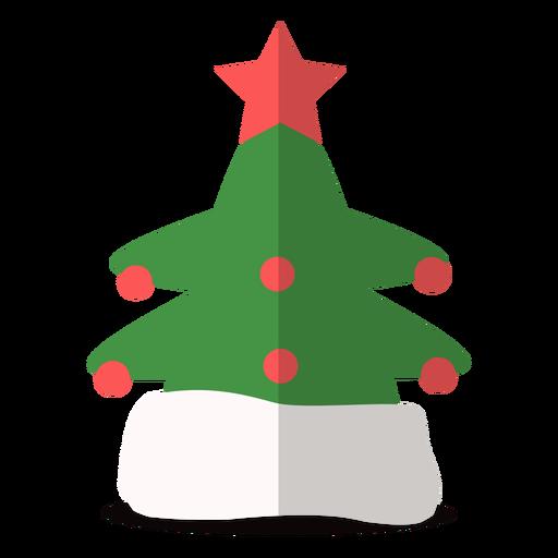 Ilustración de sombrero de árbol de navidad
