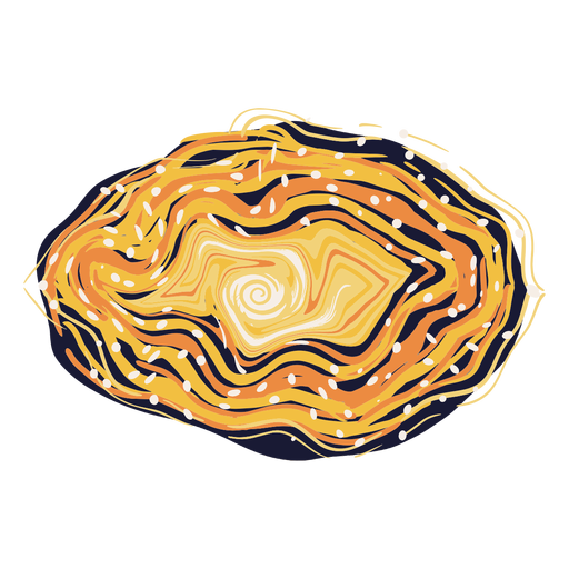Colorful galaxy illustration