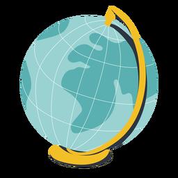 Globo terra ilustração globo