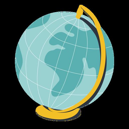 Earth globe illustration globe