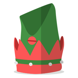 Elf hat illustration