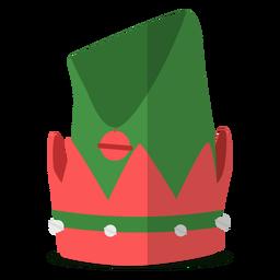 Ilustração de chapéu de elfo