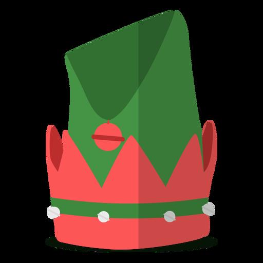 Ilustración de sombrero de elfo