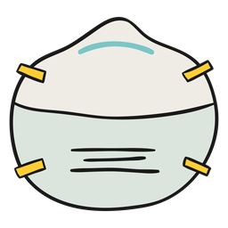 Ffp1 mask illustration