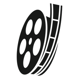 Film reel black