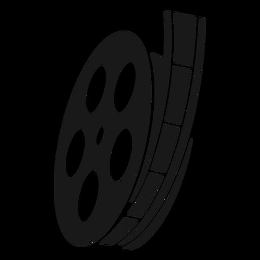 Film reel black
