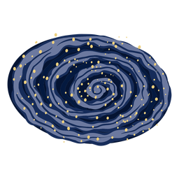Galaxy milky way illustration