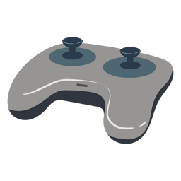 Gaming joystick illustration