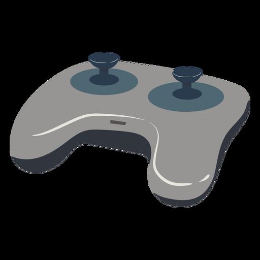 Gaming joystick illustration