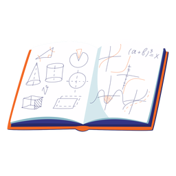 Geometry notebook illustration