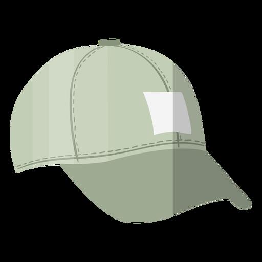 Grey cap hat illustration