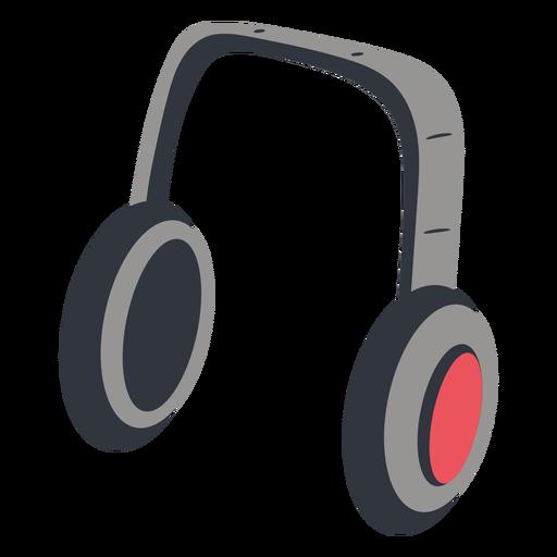 Headphones music illustration Transparent PNG