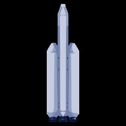 Espacio de cohete de ilustración