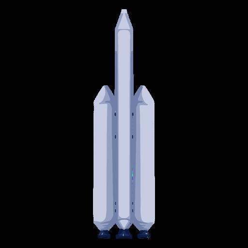 Ilustración del espacio del cohete