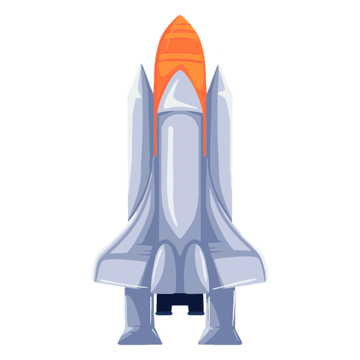 Illustration space rocket