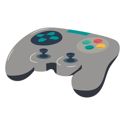 Joystick gaming illustration