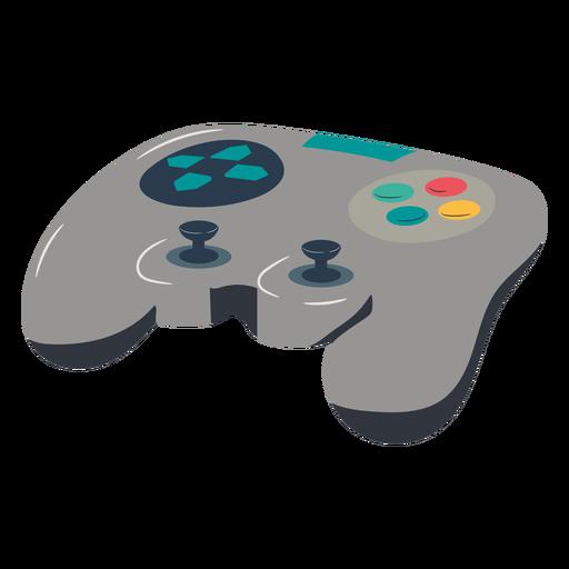 Joystick gaming illustration
