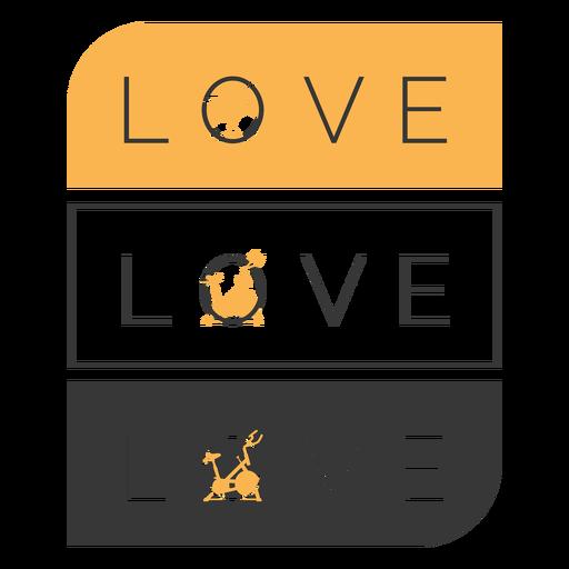 Insignia de clase de giro de amor Transparent PNG