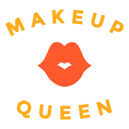 Makeup queen badge