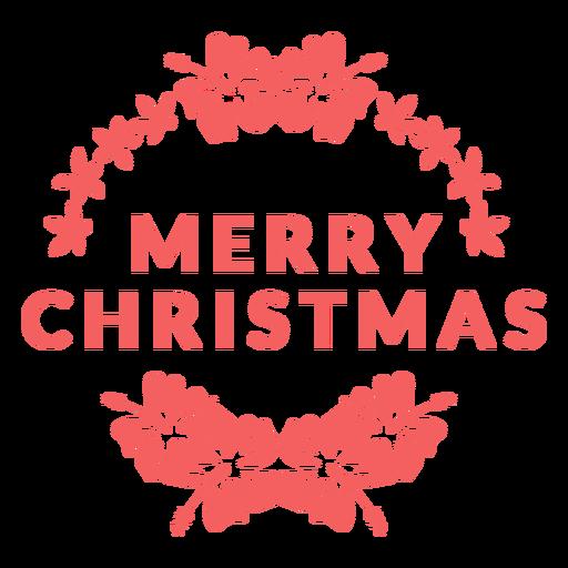 Feliz navidad insignia navidad Transparent PNG